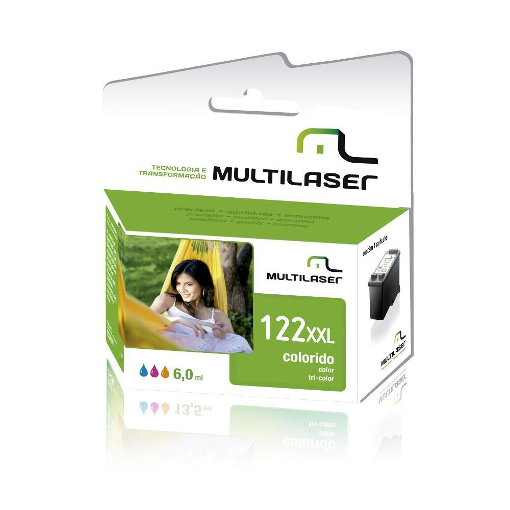 Cartucho HP 122 Color Multilaser